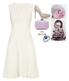 """""""Attending the finale of Royal Ascot"""" by fashion-royalty ❤ liked on Polyvore featuring Ippolita, L.K.Bennett, Whistles, Bottega Veneta and Blue Nile"""