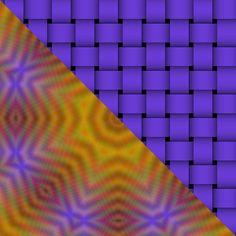 Free Tea Bag Tiles for Card Making Paper Folding Origami images/amber-blue-tile1-weave.jpg