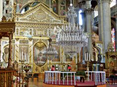 Photo of Interior Biserica Greacă/Inside the Greek Cathedral Braila Romania Places Worth Visiting, Royal Blood, Cathedral, Beautiful Places, Greek, Castle, History, Country, Architecture
