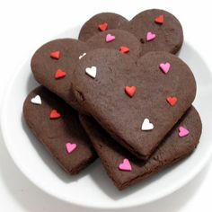 Valentine's Day Chocolate Cookies