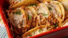 Voor alle kaaskoppen: recept Taco's met kaas en kip
