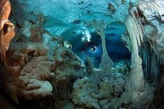 "Jill Heinerth--""The Badlands"" of Dan's Cave  in the Bahamas"