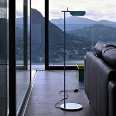 Adjustable floor lamp TAB F - FLOS