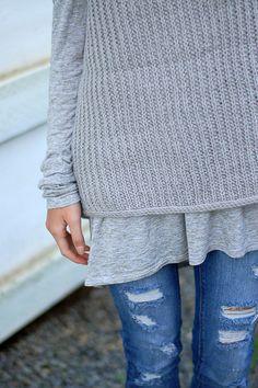 mimic sweater - free pattern