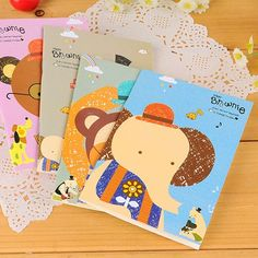 Design Paper For Writing Bendable Color Will Be Random Smile Face Design Paper Notebook .