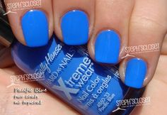 My new favorite color. Got it on my nails right now <3 Pacific blue.