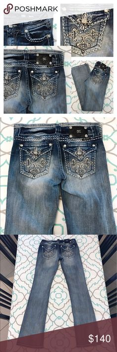 """Awesome Light Dark Miss Me Jeans27 3/4 33"""" Awesome Light & Dark Miss Me Jeans Just Beautiful!!! Miss Me Jeans Boot Cut"""