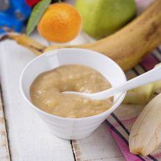 Plátano, manzana y mandarina (5-6 meses)