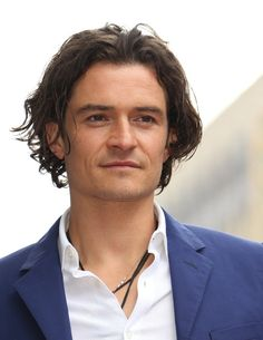 Pin for Later: 15 Hot Celebrity Guys Who Make the Man Bob Cool Orlando Bloom