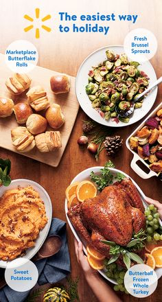 Check out Walmart's Entertaining Guide to discover easy to make dishes for your Thanksgiving meal. Find Thanksgiving essentials all in one place at your local Walmart. Shop great ingredients for less today!