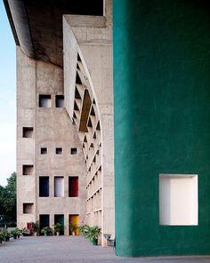 #concrete #architecture Le Corbusier photo by Cemal Emden