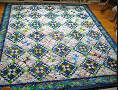Roll Roll Cotton Boll - Bonnie Hunter, Quiltville