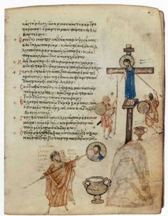 the Chludov Psalter (mid-9th century CE) is a rare testimony of Byzantine art at the time of the Iconoclasm. In fact, it is one of only 3 illuminated Byzantine Psalters to survive from the 9th century.