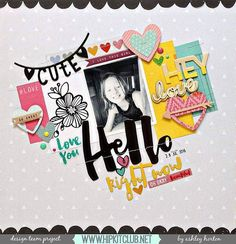 Anyone started using their #august2016 #hipkits yet? Designer @ashleyhorton75 shares her first gorgeous #layout with them!! @hipkitclub #silhouettecameo #cutfiles #hkcexclusives #kits #exclusives #hipkitexclusives #embellishments #kitclub #scrapbookingkitclub #sketch