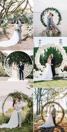trending circular wedding arch ideas for 2019 Dream Wedding, Wedding Dresses, Fashion, Bride Dresses, Moda, Wedding Gowns, Fasion, Dress Wedding, Bridal Gowns