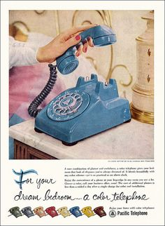 Pacific Telephone Ad, 1957 by alsis35, via Flickr