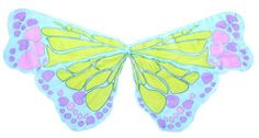 Butterfly Multi Chiffon Wings - Blue Butterfly Party, Butterflies, Wings, Chiffon, Party Ideas, Bows, Bikinis, Collection, Fashion