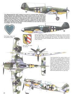 Famosos Pilotos del JG54 | Todo sobre la Segunda Guerra Mundial