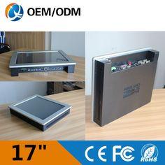 17'' industrial pc resistive touch screen 4GB DDR3 32G SSD Resolution 1280x1024 2GB RAM 32G SSD with Intel Celeron C1037U 1.8GHz