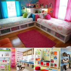 Best twins bedroom/ storage