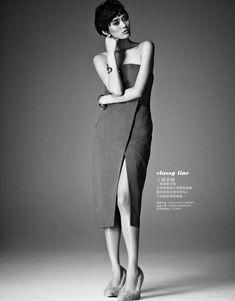 1e79c941630 Ming Xi en Elle Taiwán Marzo 2013 Jason Kim