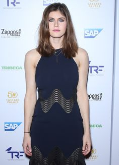 Alexandra Daddario attends the Slay Cancer with Dragons event in Las Vegas on September 30, 2016