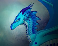 My OC from Wings of Fire Dragon Name: Betta Female Tribe: Rainwing/Seawing Hybrid Her father, Manta Ray, was a Seawing ambassador for the Seawing kingdom; where he was visiting the Rainforest kingd...