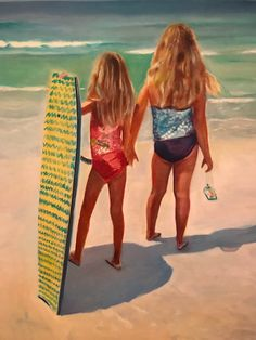 Exotic Places, Make Me Smile, Vibrant, The Incredibles, Oil, Beach, Painting, The Beach, Painting Art