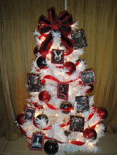 "A white ""Twilight"" Christmas tree.  It's pretty legit.  just saying..."
