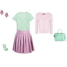 """Cool Summer - mint"" by adriana-cizikova on Polyvore"