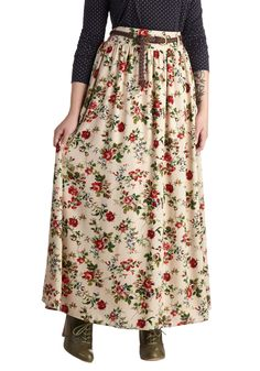 Pastoral History Skirt | Mod Retro Vintage Skirts | ModCloth.com