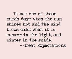 Great Expectations via Confessions of a writer... #quote