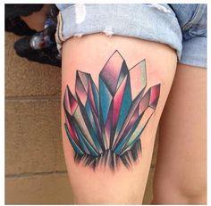 My magical mystical crystal tattoo