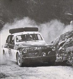 This 122 was competing in the 1970 World Cup Rally in Mexico City.