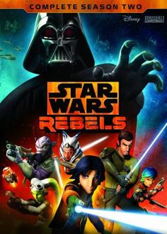 Cover image for Star Wars rebels. Complete season 2 [videorecording (DVD)]