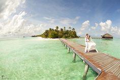 Destination wedding photography in Maldives by TropicPic   #maldives #wedding #island