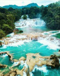 Água Azul, Chiapas, México