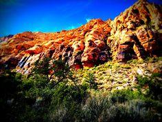 Beautiful Red Rock Canyon NV.
