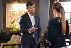 Neighbours' Chloe Brennan will receive an indecent proposal from newcomer Pierce Greyson next week. Dating Chat, Online Dating, Indecent Proposal, Romantic Surprise, Cancer Man, Plot Twist, Just Friends, Christian Grey, Tv On The Radio