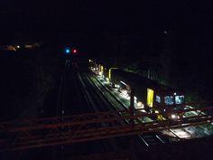 Train at night. Fair Grounds, Train, Explore, Night, Fun, Photos, Photography, Pictures, Photograph