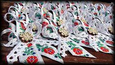 Dadyart / Svadobné pierka - Štvorlístkový FOLK Burlap Wreath, Christmas Wreaths, Folk, Holiday Decor, Popular, Burlap Garland, Forks, Folk Music