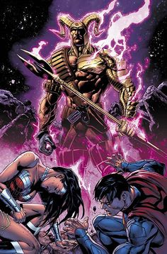 SUPERMAN/WONDER WOMAN #16 Written by PETER J. TOMASI Art and cover by DOUG MAHNKE and JAIME MENDOZA