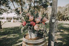 Real Weddings – Page 57 – Hello May Diy Wedding Inspiration, Wedding Ideas, Australian Native Flowers, Wedding With Kids, Flower Power, Floral Arrangements, Real Weddings, Wedding Ceremony, Wedding Flowers