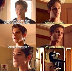 Teen Wolf Isaac and Scott Only if they where fighting over me !!!!
