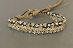 bracelet homme argent en pépites et cordons .nouvelle collection : Bijoux pour hommes par made-with-love-in-aiacciu