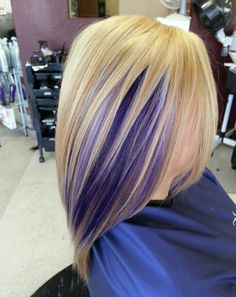 Love the wild color underneath!