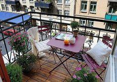 77 praktische Balkon Designs - Coole Ideen, den Balkon originell zu gestalten