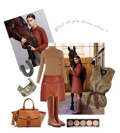 """""""Great boots and a beautiful horse!"""" by amyjen70 ❤ liked on Polyvore featuring Sebastian Professional, Whistles, River Island, Burberry and Gypsy SOULE"""
