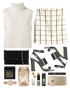 """""""Dual intensity"""" by sophiehackett ❤ liked on Polyvore featuring Étoile Isabel Marant, H&M, NARS Cosmetics, Topshop, Lanvin, Cultural Intrigue, Rifle Paper Co, Yves Saint Laurent, Skagen and Karen Kane"""