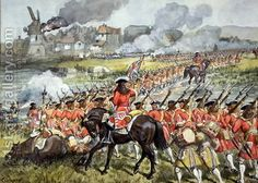 THE CAMERONIANS (Scottish Rifles) Batalla de Blenheim - 1704. Más en www.elgrancapitan.org/foro